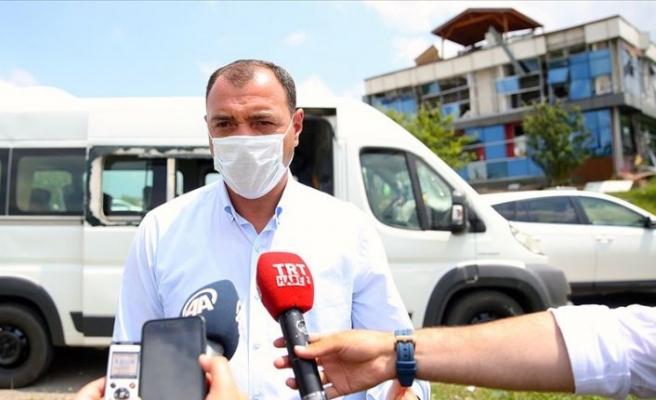 Sakarya Valisi Kaldırım'dan havai fişek fabrikasındaki patlamada kayıp olarak aranan kişiye ilişkin açıklama
