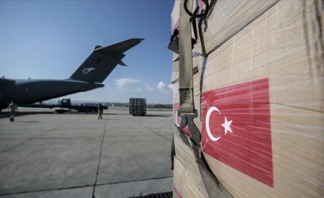 Türkiye'nin koronavirüs yardımları Bağdat'a ulaştı