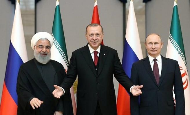 Üçlü Astana Zirvesi sona erdi! İşte ortak açıklama