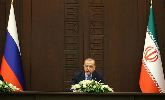 Üçlü Astana Zirvesi başladı! Erdoğan'dan kritik mesajlar