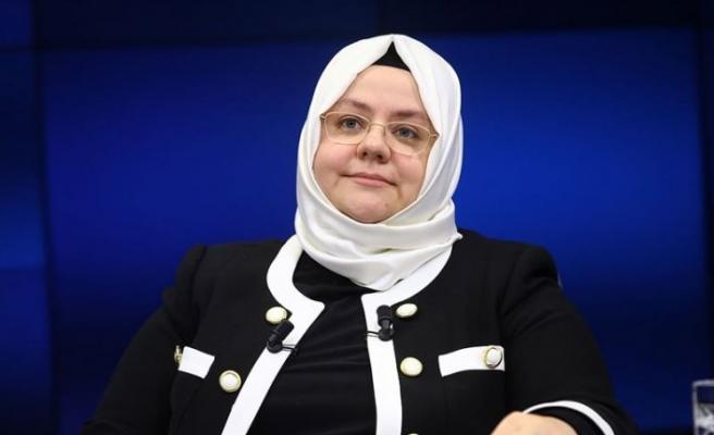Aile, Çalışma ve Sosyal Hizmetler Bakanı Selçuk: 83 milyar lira destek sağladık