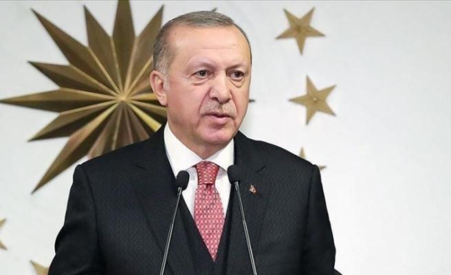 Cumhurbaşkanı Erdoğan, şehit Jandarma Uzman Çavuş Aykut Variyenli'nin ailesine taziye mesajı gönderdi