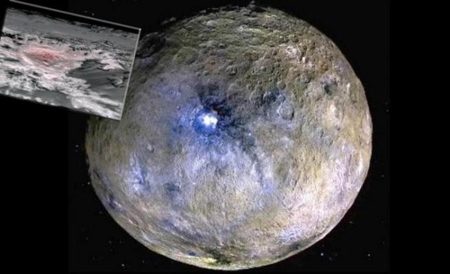 Cüce gezegen Ceres'te büyük bir tuzlu su rezervi keşfedildi