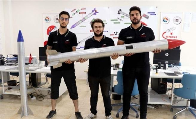Tasarladıkları roketlerle TEKNOFEST'te yarışacaklar