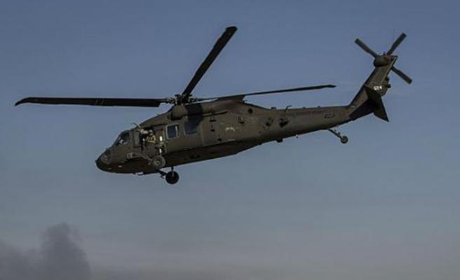 ABD'ye ait askeri helikopter Suriye'de düştü iddiası