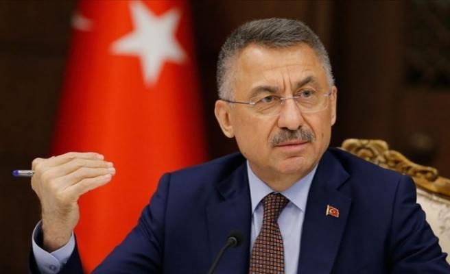 Cumhurbaşkanı Yardımcısı Oktay: ABD'nin GKRY'ye yönelik silah ambargolarını kaldırması bölgesel barışı zehirlemekte
