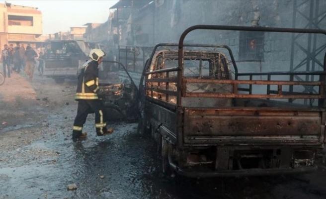 Afrin'de terör saldırısı: Onlarca ölü ve yaralı var