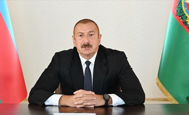 Aliyev'den flaş Türk F-16'ları açıklaması