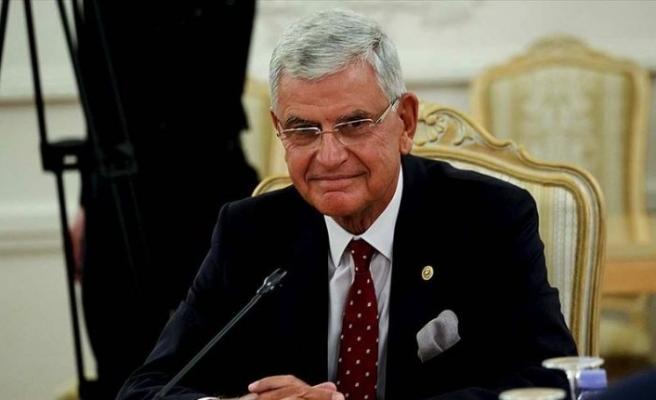 BM 75. Genel Kurul Başkanlığına seçilen Volkan Bozkır görevine başlıyor
