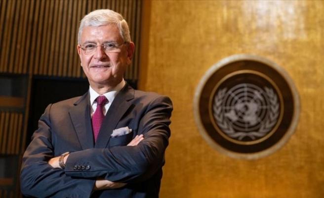 BM Genel Kurulu Başkanlığına seçilen ilk Türk Volkan Bozkır, görevine başladı
