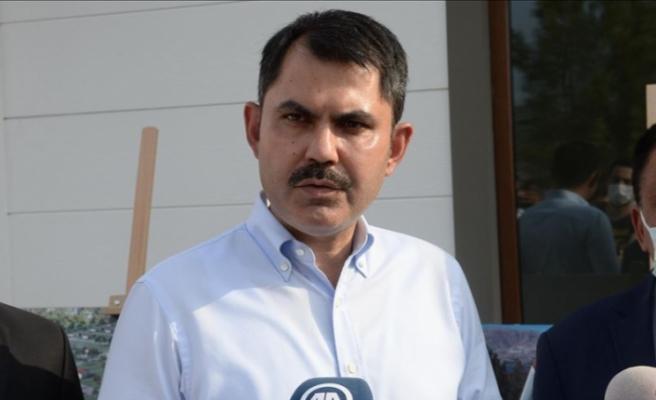 Çevre ve Şehircilik Bakanı Kurum: Sel bölgesindeki proje tamamlandı