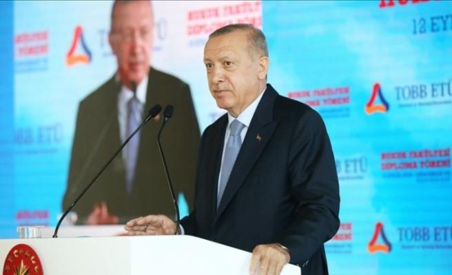 Cumhurbaşkanı Erdoğan, '28 Şubat müdahalesinin maliyeti 380 milyar doları bulmaktadır' dedi