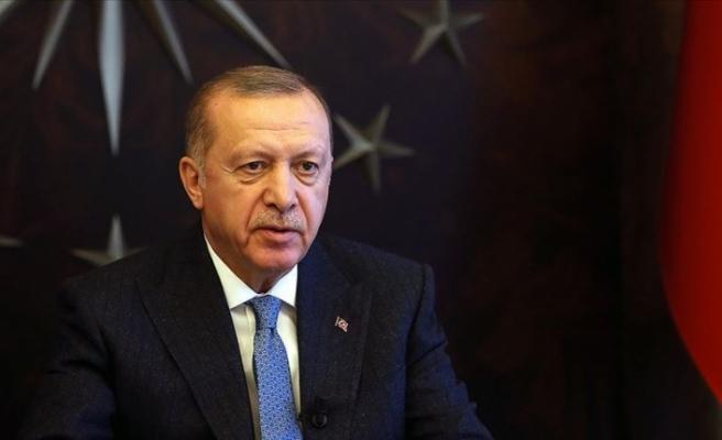 Cumhurbaşkanı Erdoğan'dan demokrasi kahramanları için mesaj