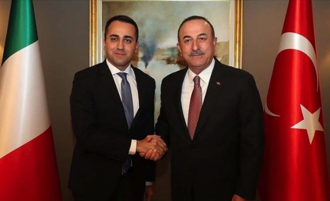 Dışişleri Bakanı Çavuşoğlu İtalyan Dışişleri Bakanı ile görüştü