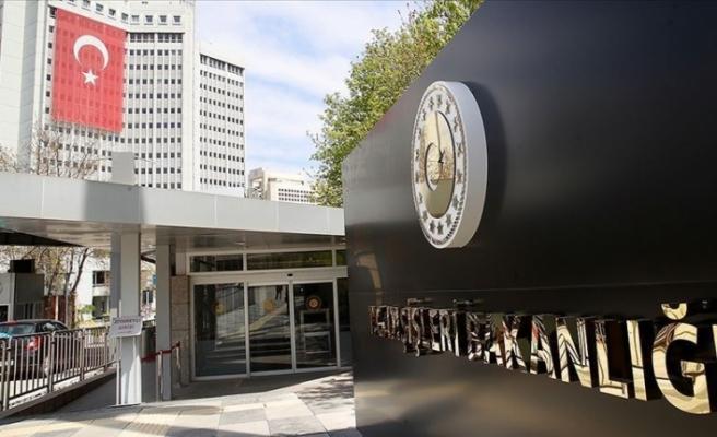 Dışişleri Bakanlığı'ndan açıklama: Büyükelçiliğin Kudüs'e taşınması endişe verici