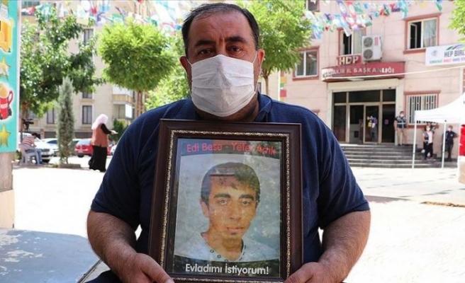 HDP önündeki eylemin 1. yılında bir aile daha evladına kavuştu