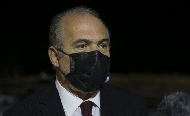 Fahrettin Koca, Türk Tabipleri Birliği Merkez Konseyi Başkanı Sinan Adıyaman'ı kabul etti