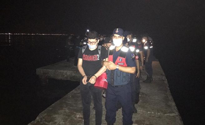 FETÖ'cüler sürat teknesiyle Yunanistan'a kaçamadan yakalandı
