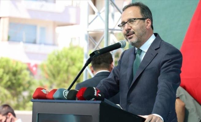 Gençlik ve Spor Bakanı Kasapoğlu: Yeni tip koronavirüs salgınını el birliğiyle atlatacağız