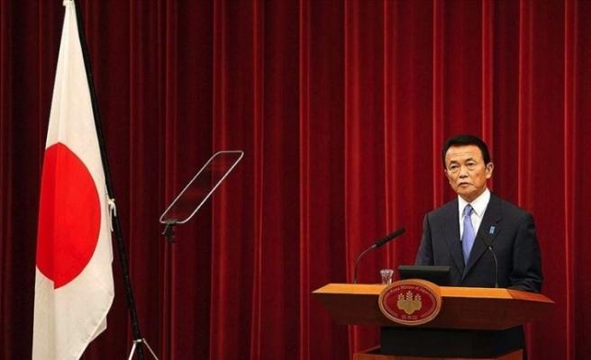 Japonya Başbakan Yardımcısı Aso'dan erken seçim sinyali