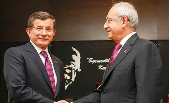 Kılıçdaroğlu'ndan Davutoğlu'na ziyaret