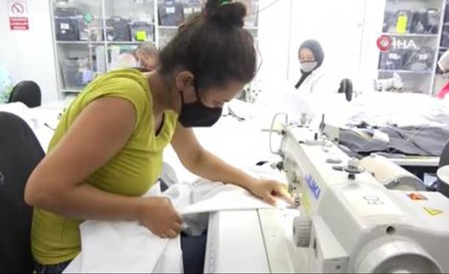 Koronavirüsü yok eden kumaş Bursa'dan çıktı