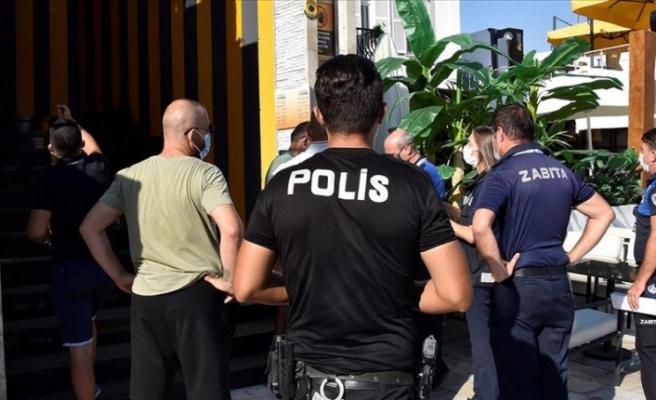 Muğla'da 11 işletmenin faaliyeti Kovid-19 tedbirlerine uymadıkları gerekçesiyle durduruldu