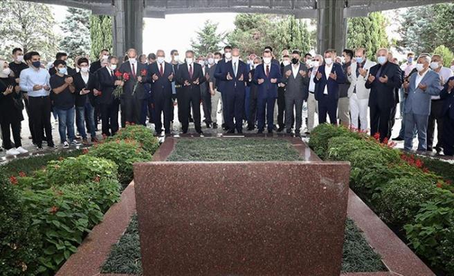 Merhum Başbakan Adnan Menderes idam edilişinin 59. yılında mezarı başında anıldı