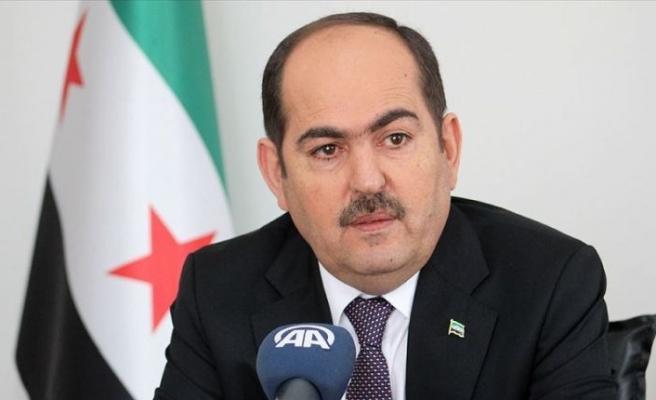 Suriye Geçici Hükümeti Başkanı Mustafa YPG/PKK ile sözde muhaliflerin anlaşmasını kınadı