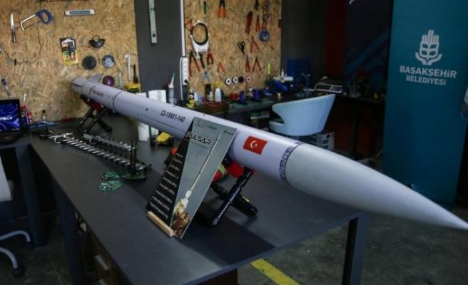 Üniversitelilerin kurduğu sivil havacılık ve uzay şirketi, TEKNOFEST Roket Yarışına ''Pulsar ile katılıyor