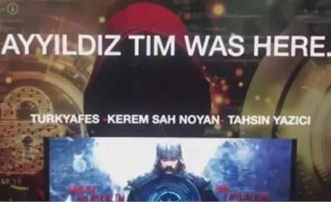 Türk hacker grubu Ayyıldız Tim, Yunan bakanlığının sitesini hackledi