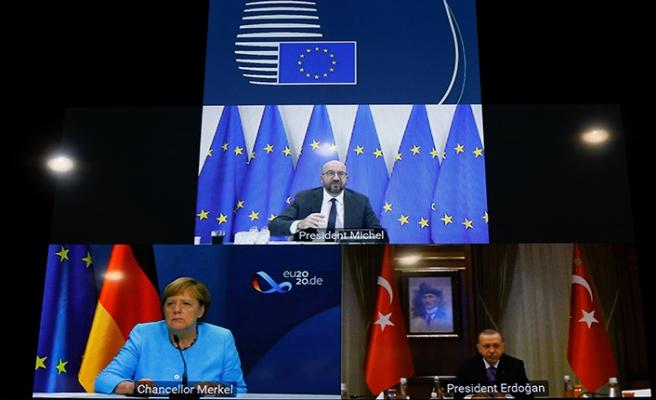Erdoğan - Merkel ve Michel zirvesi sona erdi