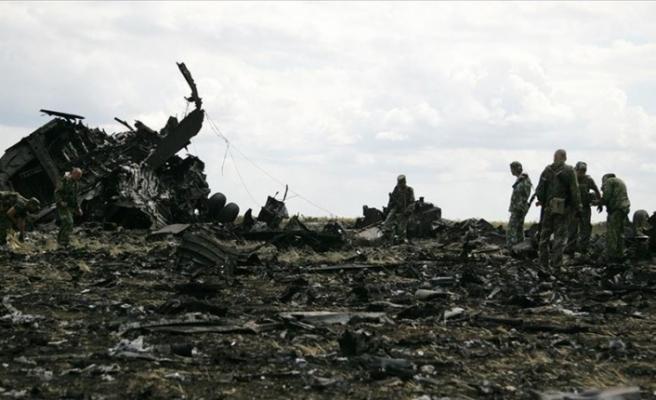 Ukrayna'da facia! Askeri uçak düştü: 25 ölü var