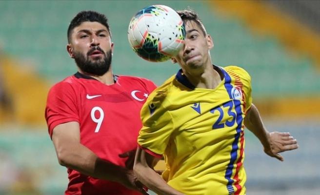 Ümit Milliler, Andorra'yı 1-0 yendi