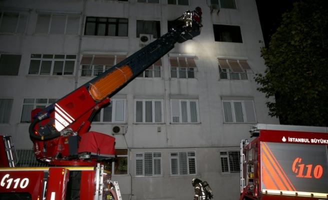 Beşiktaş'ta korkutan yangın