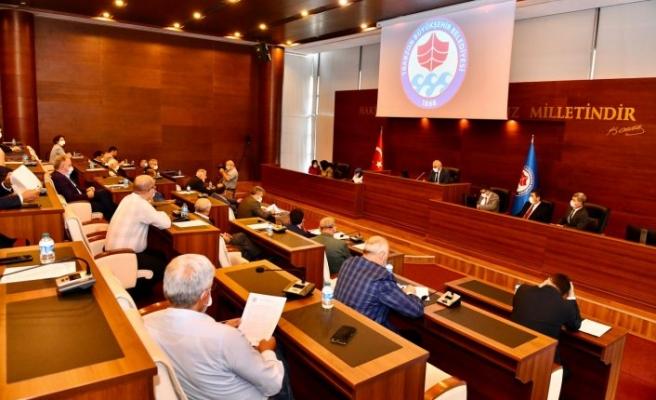 Büyükşehir Belediye Meclisi ekim ayı ilk toplantısı yapıldı