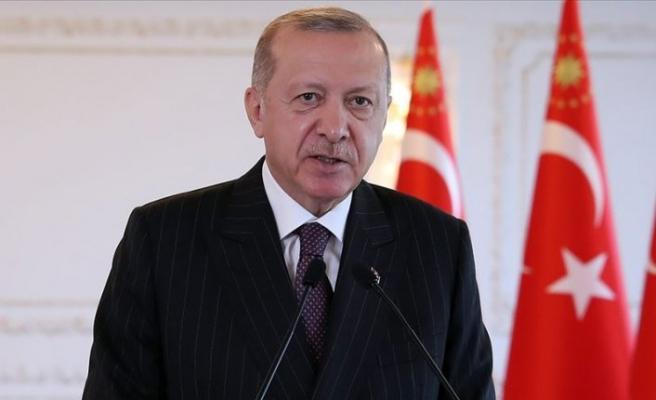Erdoğan'dan Azerbaycan için hep destek, tam destek mesajı