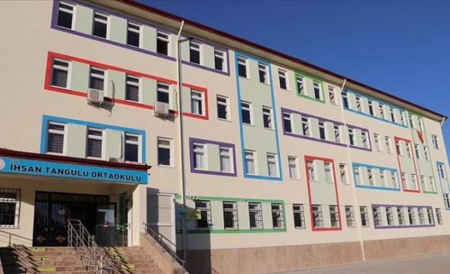 Depremin vurduğu Elazığ'da 13 yeni okul eğitime kazandırılıyor