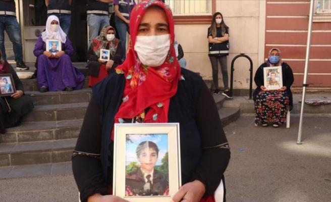 Diyarbakır annelerinden Tokay: Çocuğumu almadan buradan kalkmayacağım