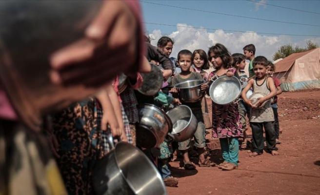 Dünyada 270 milyon insan açlıktan ölümün eşiğinde