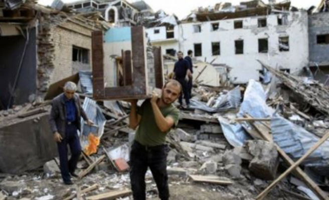 Ermenistan, Gence'deki sivilleri orta menzili balistik füze Elbrus ile vurmuş