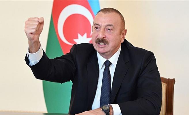 Ermenistan'ın katliam girişimi sonrası Aliyev'den intikam mesajı