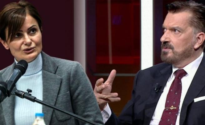 Canan Kaftancıoğlu ile Hakan Bayrakçı'nın büyük kavgasında hakaretler havada uçuştu