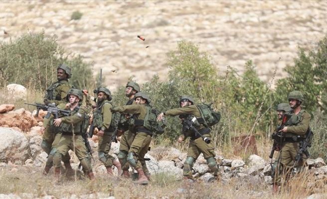 İşgalci İsrail'den mülteci kampına baskın: 12 Filistin yaralı