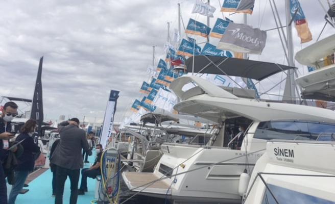 Marinturk Marina'daki 'CNR Avrasya Boat Show Denizde Fuarı'na büyük ilgi