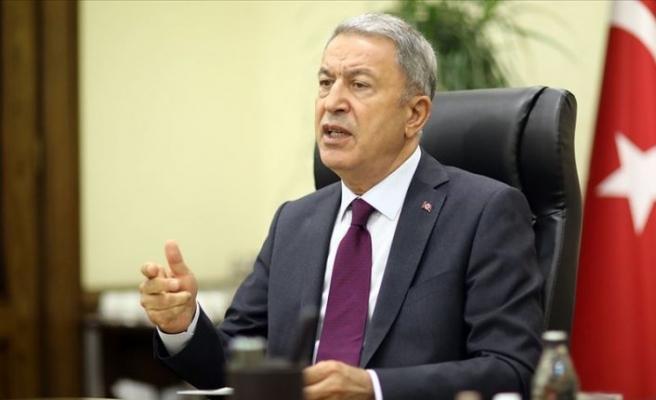 Milli Savunma Bakanı Akar: Ermenistan savaş suçu işlemeye devam ediyor