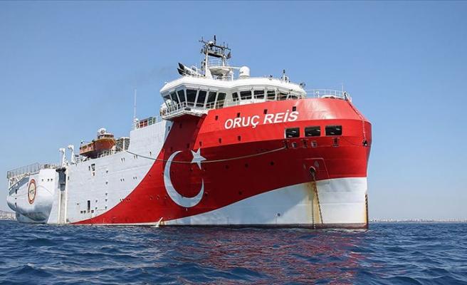 Ticaret Bakanı Dönmez: Oruç Reis Doğu Akdeniz'de! Bugün ilk sismik okumaları alıyoruz