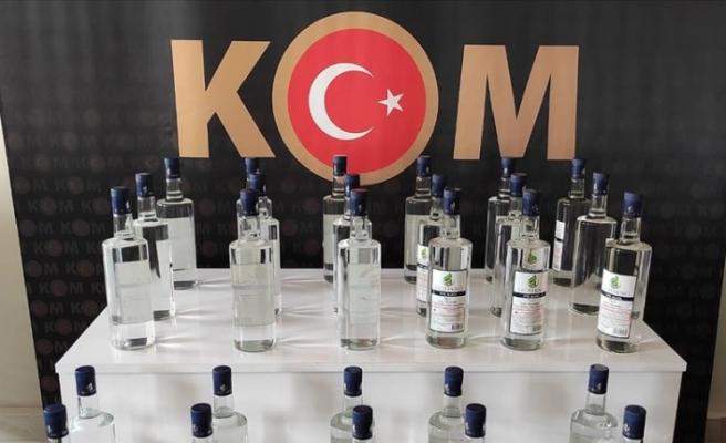 Polis, yurt genelinde sahte içkiyle mücadele ediyor