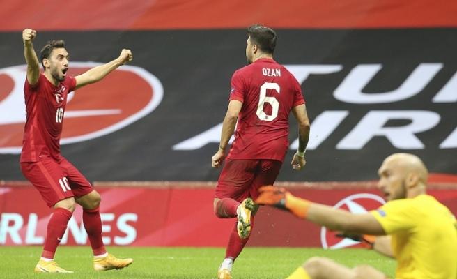 A Milli Takım Sırbistan'la 2-2 berabere kaldı