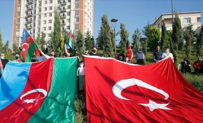 Sivil toplum kuruluşlarından Azerbaycan'a destek